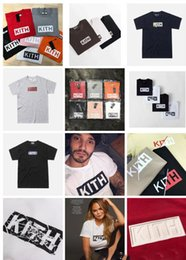 $enCountryForm.capitalKeyWord Australia - KITH t shirt brand kith mens t shirts luxury box logo high quality Classic Leisure men womens tshirt Embroidery printing Street hip hop tees