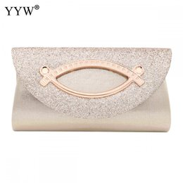 silver sequin purse bag Australia - Women Evening Clutch Bag Diamond Sequin Clutch Female Crystal Day Clutch Wedding Purse Party Banquet Black Gold Silver Clutches SH190918