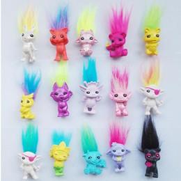 $enCountryForm.capitalKeyWord NZ - 50Pcs  Lot Mini Size Trolls Pencil Topper Dreamworks Movie Trolls Dolls Poppy Branch Action Figures Model Pvc Toy