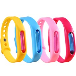 Fly bands online shopping - 9Sstyles Mosquito Bracelet Anti mosquito Bracelet Pest Insect Wristband Silicone Repellent Wrist Band Safe Bracelet Pest Control GGA2306