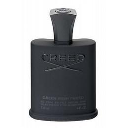 Top Quality Creed Aventus prata Água Montanha dos homens fragrâncias perfume Creed Irish tweed fragrância desodorante spray de incenso 120ml caixas em Promoção