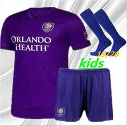 Orlando City Shirt Kaka Australia - 2019 Orlando City Kids kit Home #10 KAKA Soccer Jersey 19 20 #10 COLMAN #14 DWYER BOYS Soccer Shirt J.MENDEZ PATINO Football uniforms