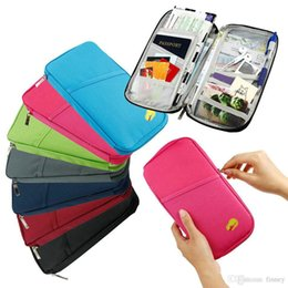 $enCountryForm.capitalKeyWord Australia - Travel Passport Holder ID Card Cash Wallet Purse Holder Case Document Bag document package travel wallet 100pcs