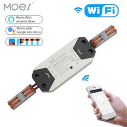 $enCountryForm.capitalKeyWord Australia - DIY WiFi Smart Light Switch Universal Breaker Timer Wireless Remote Control Works with Alexa Google Home Smart Home 1 Piece