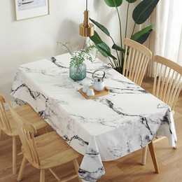 $enCountryForm.capitalKeyWord Australia - Dust-proof Tablecloths Cotton Pastoral Table Cloth Background Cloth Marbled Road Table Home Decor Manteles Toalha De Mesa