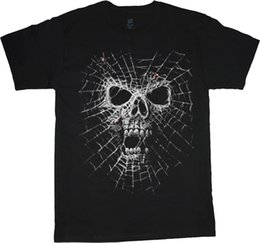 $enCountryForm.capitalKeyWord UK - Big man shirt spider web skull tee men's plus size big and tall 5X 6X 7X 10X Men Women Unisex Fashion tshirt Free Shipping