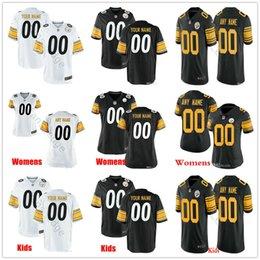 Troy jersey online shopping - Custom Pittsburgh T J Watt Troy Polamalu Jerome Bettis Smith Schuster Conner Man Women Kids Youth Football Stitched Jerseys