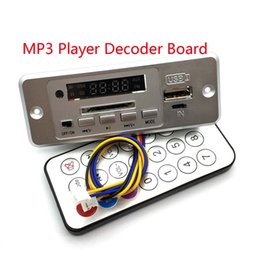 audio digital decoder Australia - Wireless 5V MP3 Player Decoder Board Integrated WMV Decoder Board Audio Module USB TF Radio For Car Red Digital LED With Remote