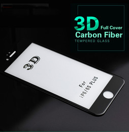 $enCountryForm.capitalKeyWord Australia - 3D Curved Carbon Fiber Tempered Glass For iPhone 8 7 6 6S Plus X Xs Max XR HD Protective Mobile Phone Screen Protector Film X8
