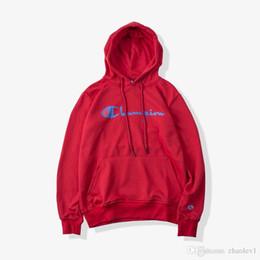 $enCountryForm.capitalKeyWord Australia - classic Sweatshirts champion line three-dimensional embroidery head hooded sweater Best tide brand men jacket hooded sweater Champion dswh