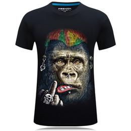 Plus Size Rock Clothing NZ - T Shirt 3d Print Men Summer Rock Star Funny Tee Shirt 3d Homme Casual Short Sleeve Women   Men Hip Hop Clothing Plus Size