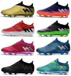 Discount messi 16 pureagility boots New Men s X 17 Purechaos FG Soccer Cleats Messi 16 Pureagility FG AG Soccer Shoes Top Quality Soccer Boots Cheap Footbal