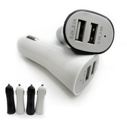 Wholesale Universal Cell Phone Charger V A Dual USB Car Charger Adapter For iPhone Plus Samsung Galaxy S6 S7 Note