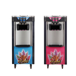 Metal Makers Australia - 2100W Commercial Soft Ice Cream Machine Automatic Ice Cream Maker Intelligent Soft Serve Ice Cream Machine