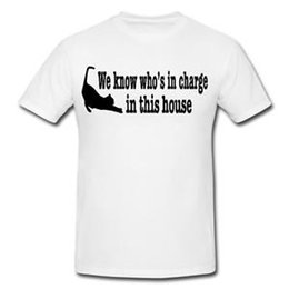 $enCountryForm.capitalKeyWord Australia - WE KNOW WHO 039 S IN CHARGE Mens or Lady Fit T Shirt T Shirt Funny Gift CAT