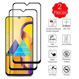 screen protector for galaxy s Australia - 2PCS samsun m 30 s protective glass for samsung galaxy m30s m 30s m307f ds 6.4'' phone screen protector glass sansung m30 s film
