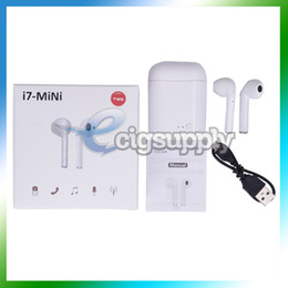 $enCountryForm.capitalKeyWord Australia - i7 Mini TWS Earphones i7S Wireless Bluetooth Headphones Bluetooth 5.0 Wireless Headset Earbuds With Charger Box i7-Mini Headset for iPhone