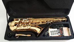 $enCountryForm.capitalKeyWord Australia - France Saxophone Tenor saxophone B Flat tube High-grade paint gold quality assurance Free shipping