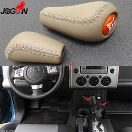 Chinese  Accessories 2 pcs Car Gear Shift Knob Replacement For Land Cruiser FJ70 FJ76 FJ77 FJ78 FJ79 LC70 LC71 LC76 LC77 LC79 manufacturers