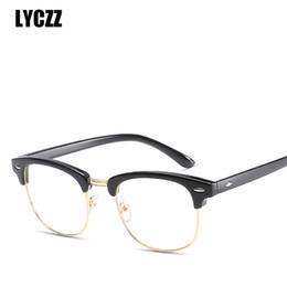 3116850ea0 LYCZZ Brand Design Eyewear Frames for Women Men vintage spectacle frame  Eyeglasses Mirror Ladies Male Eyewear Optics spectacle