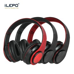 HeadpHones ligHtweigHt online shopping - 2019 New Release Portable Headphones Wireless Bluetooth Headphone year warranty Folding Lightweight Gaming Headset for iphone XR Computer