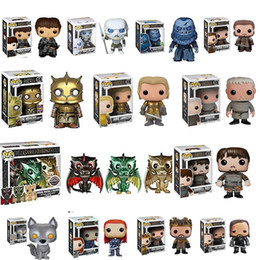 Toy Walkers NZ - FUNKO POP NEW Game of Thrones White Walker Ramsay Bolton Sansa Stark Ygritte Dragon Samwell Tarly Figure Toys Collection Model Toy Gift