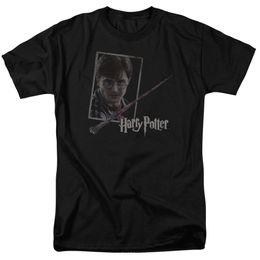 $enCountryForm.capitalKeyWord Australia - Harry Potter Harry's Wand Portrait Licensed Adult T Shirt Funny free shipping Casual Tshirt top