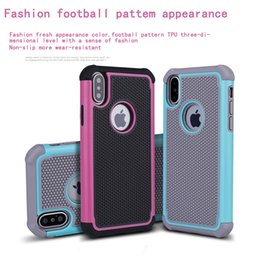 Iphone Rugged Rubber Matte Case NZ - For iphone X 8 7 Plus Hybrid Case Rugged Impact Rubber Matte Shockproof Heavy Hard Case for iphone 5 6s 6plus iphone7 7plus