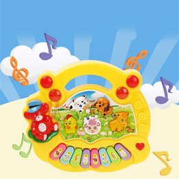 ElEctric kEyboard online shopping - Cartoon Farm Child Keyboard Animal Early Education Puzzle Musical Instrument Electric Toy Popular Lovely New Arrival Portable mr I1