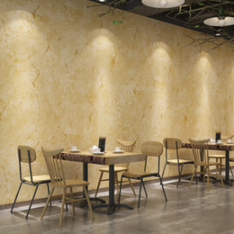 $enCountryForm.capitalKeyWord Australia - Vintage industrial style plain solid color wallpaper clothing store Internet cafe restaurant old cement gray crack PVC waterproof wallpaper