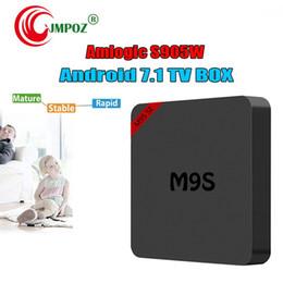 $enCountryForm.capitalKeyWord Australia - best M9S SE Smart TV Box Amlogic S905W Quad Core Android 7.1 TV Box Wifi HDMI 2.0A 4K H.265 IPTV Media Player