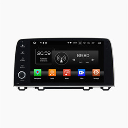 Honda crv dvd online shopping - 4GB RAM GB ROM PX5 Octa Core quot Android Car DVD Player for Honda CRV CR V Car Radio GPS Navigation WIFI Bluetooth USB DVR