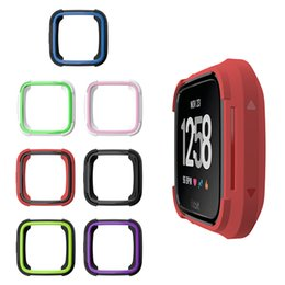 $enCountryForm.capitalKeyWord Australia - For Fitbit Versa&Fitbit Versa Lite Watch Slim TPU Protect Frame Case Cover Skin