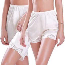 $enCountryForm.capitalKeyWord Australia - 2019 Summer Women Solid Anti-Static Slip Pettipants Loose Satin Bloomers Panties Short Lingerie