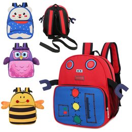 $enCountryForm.capitalKeyWord Australia - 2019 Korean-style Children's Backpack Summer New Style Stylish Versatile Cute Cartoon Animal Backpack Kindergarten School Bag