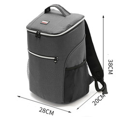 $enCountryForm.capitalKeyWord Australia - 20L 600D oxford big cooler bag thermo lunch picnic box insulated cool backpack ice pack fresh carrier thermal shoulder bags