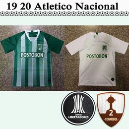 baaafe30afa 19 20 Atletico Nacional Medellin Mens Soccer Jerseys LUCUMI Home Green Away  White Football Shirts Colombia Club Top Thailand Quality Uniform