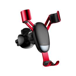 $enCountryForm.capitalKeyWord Australia - Baseus Mini Universal Gravity Car Holder Air Vent Mount Car Phone Holder For iPhone XR XS Max Samsung Mini Mobile Phone Holder Stand