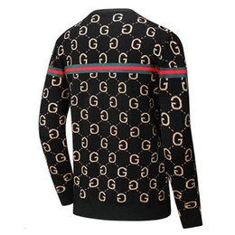 computer embroidery designs Australia - muse66 mens Sweaters designs For Men Fashion Long Sleeve Autumn Loose Pullover For shirts sweater 0902