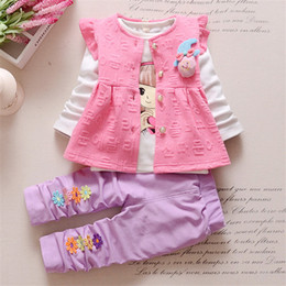 $enCountryForm.capitalKeyWord NZ - good quality baby girls clothing sets spring autumn children clothing 3pcs jacket + cartoon t-shirt + pants suits kids girls clothes