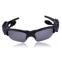 Солнцезащитные очки Bluetooth-гарнитура Беспроводные спортивные наушники Sunglass Стерео наушники громкой связи mp3-плеер с розничной упаковке на Распродаже