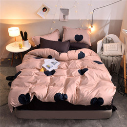 Extra long twin shEEts online shopping - 100 Cotton D Lifelike Bedding Set of Duvet Cover Bed Sheet Pillowcases Single Double Full Queen King Size Duvet Cover Bed Sheet