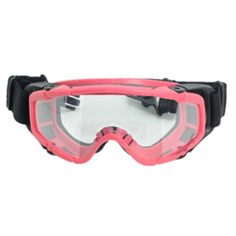 girls ski goggles NZ - Tactical skiing safety goggle SI-Ballistic Goggle FOR Helmet black DE pink 423 424