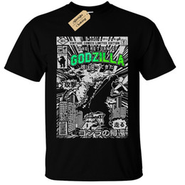 $enCountryForm.capitalKeyWord NZ - Kids Boys Girls GODZILLA Mens T Shirt SCREEN PRINTED Retro Comic dinosaur gift Funny free shipping Unisex Casual Tshirt top
