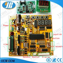 $enCountryForm.capitalKeyWord Australia - Cheap price Claw Crane Machine PCB English set voice Arcade Motherboard Slot Game Board With Displays Wire Harness