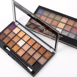 Pearl Eye Shadow NZ - MISS ROSE 24 color pearl matte eye shadow palette Long-lasting Easy to Wear women comestics makeup tools