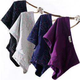 $enCountryForm.capitalKeyWord Australia - Men Underwear Boxers Shorts Casual Cotton Breathable Plus Size Male Underwear Sexy Underpants U Pouch Youth Panties 4pcs 4xl 4xl