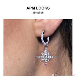 $enCountryForm.capitalKeyWord NZ - Authentic 925 Sterling Silver Earring Logo hollow words in brand logo Stud Earrings For Women compatible jewelry 219