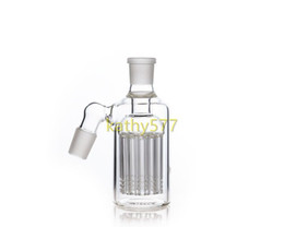 Chinese  Glass Ash Catchers for Bong Water Pipes 45 90 degrees 14.4mm 18.8mm 14mm 18mm arms filters Ashcatcher Smoking Bongs Heady Hitman manufacturers