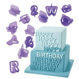 $enCountryForm.capitalKeyWord Australia - 40 Pcs Hot Sale Kitchen Alphabet Letter Number Fondant Cake Biscuit Baking Mould Cookie Cutters and stamps For